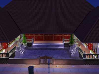 外公的三合院3D草稿