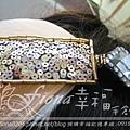 粉橘色羽毛髮箍NT2200