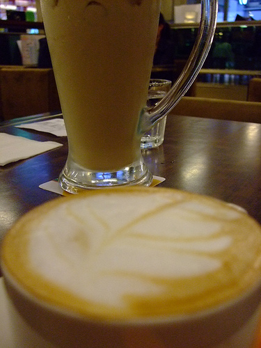 皇家熱奶茶