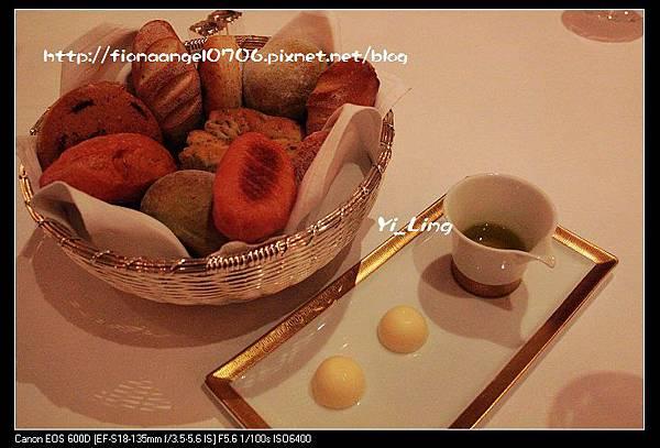 米其林餐廳之Don Alfonso 1890 當奧豐素1890意式料理-餐前麵包籃