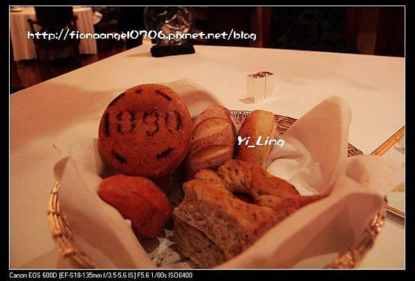 米其林餐廳之Don Alfonso 1890 當奧豐素1890意式料理-招牌麵包1890