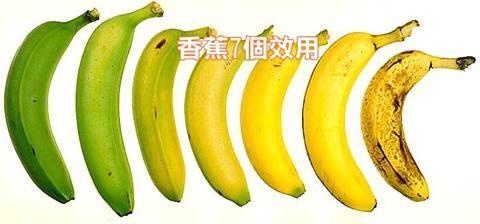 香蕉7個效用