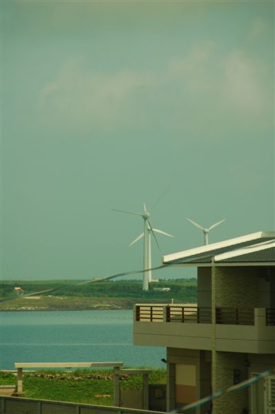 還可以看到大風車耶