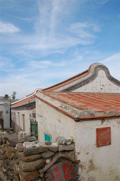 等遊客散去後 怎麼這麼美的屋頂