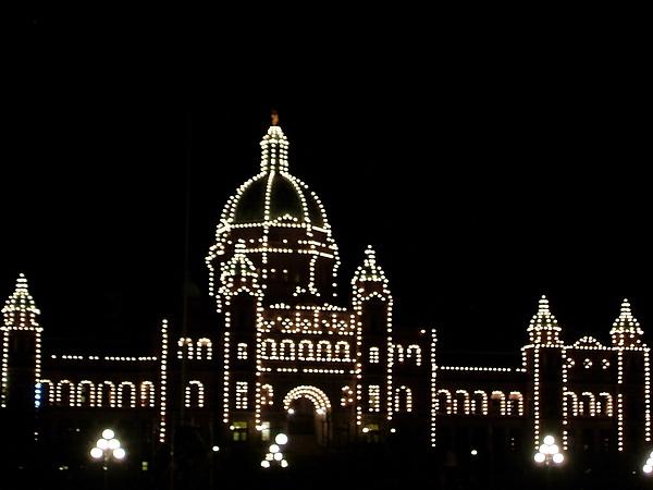 議會大廈夜景