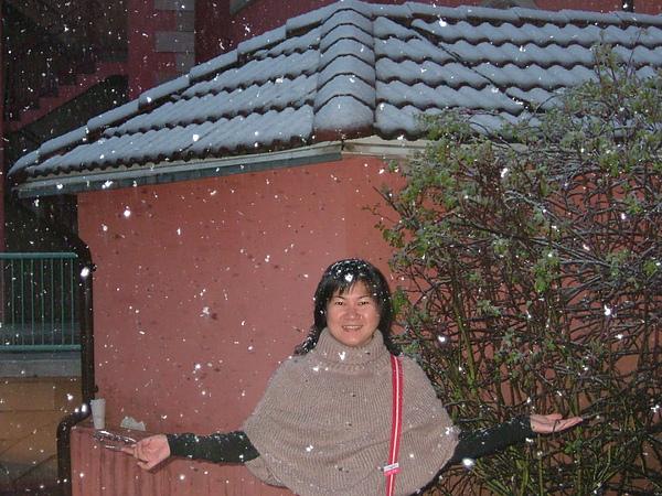 第一次遇見雪花