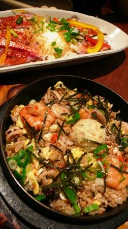 海鮮帆貝利炒飯