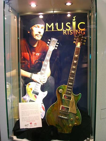 Nashville機場的吉他展示