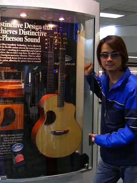 很漂亮的木吉他