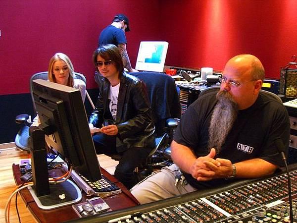 整個錄音室的工作人員