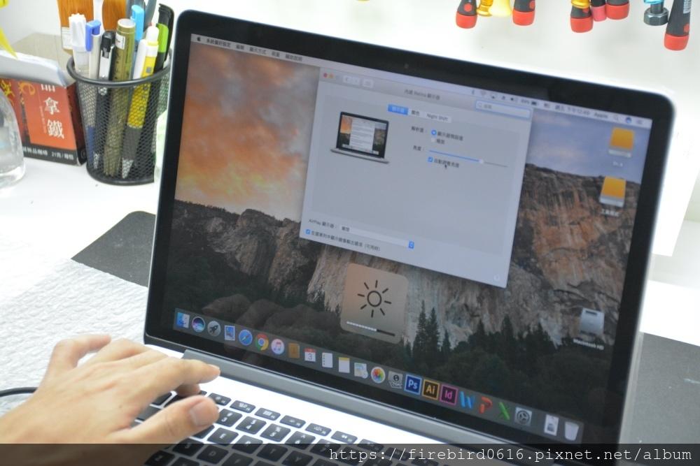 台北MacBook維修推薦-系統顯示檢測