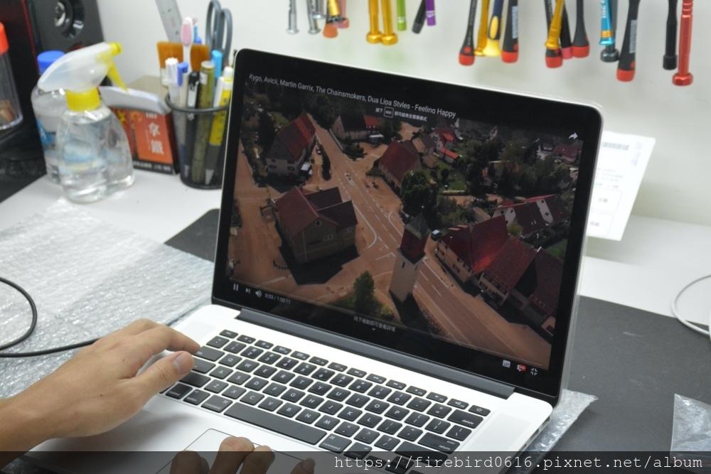 台北MacBook維修-影片測試解析