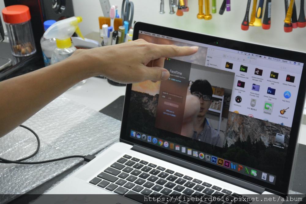 台北MacBook維修-鏡頭檢測
