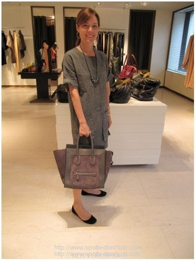 jennifer-alfano-celine-mini-grey-and-purple-suede-luggage-tote.jpg