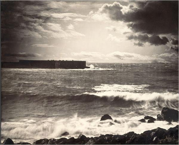 The Great Wave, Sete cu accent grav pe primul e 1857 Gustave le Gray.jpg