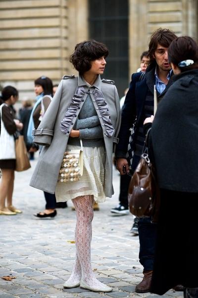gray cute coat 2