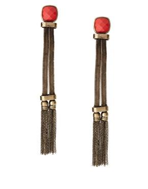 ASOS Statement Long Tassel Earrings With Stone Detail.jpg