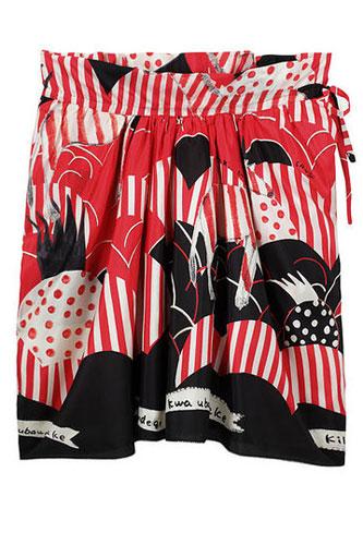 Tsumori Chisato Pineapple Print Skirt, $489  29.jpg