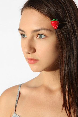 UO Strawberry Bobby Pin, $12, available at Urban Outfitters. 29.jpg