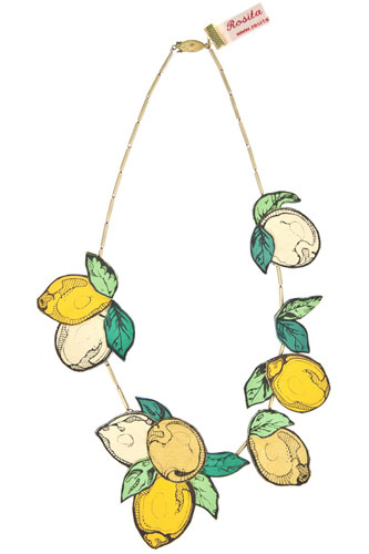 Rosita Bonita Lemon Necklace, $140, available at Farfetch. 29.jpg