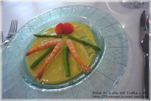 [開胃菜]鮮蝦蘆筍