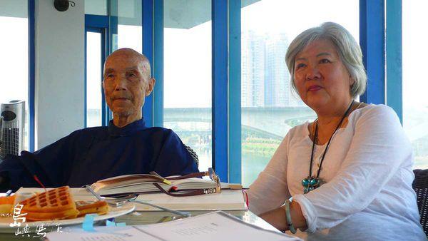 20100720周公與張香華於碧潭.jpg