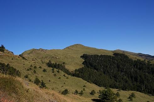 合歡山~奇萊登山口 (17)遠望合歡北.JPG