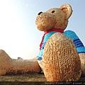 {fishraymond}2014 航空城地景藝術節 迷失的小熊4