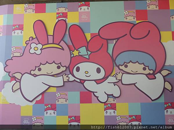{fishraymond}My Melody & LittleTwinStars 40周年夢幻特展