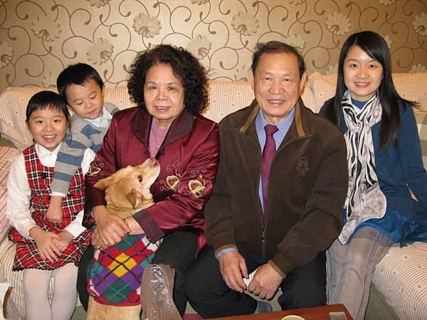 龍年初一在三姑家