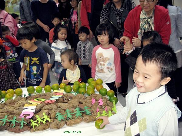 兒童主日學感恩獻祭