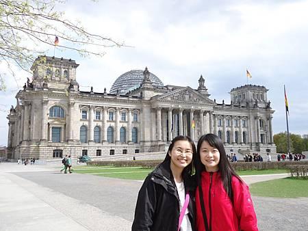 新舊交融的國會大廈