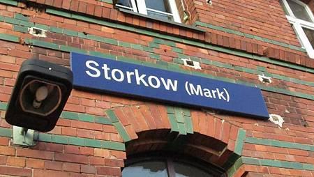 距離柏林約一小時火車的Storkow
