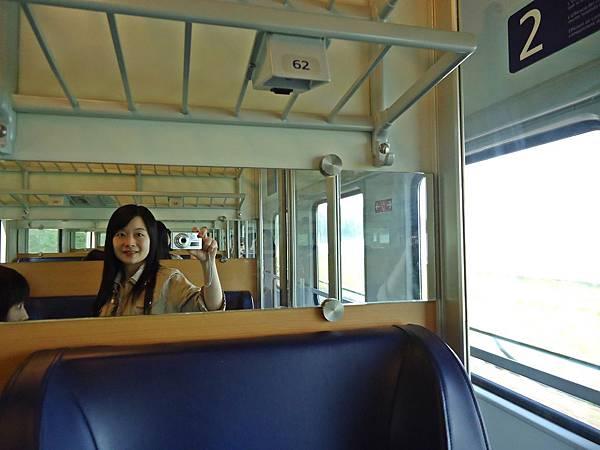 搭乘有包廂的火車前往德勒斯登