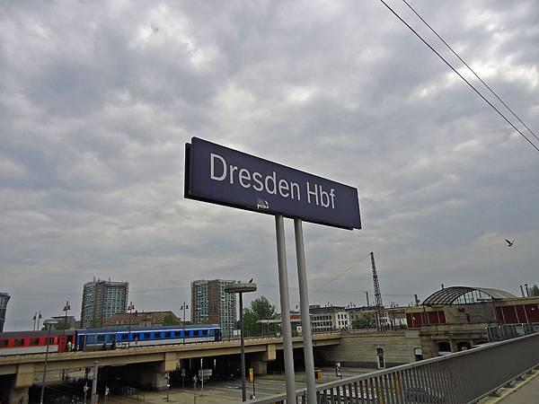 抵達德勒斯登