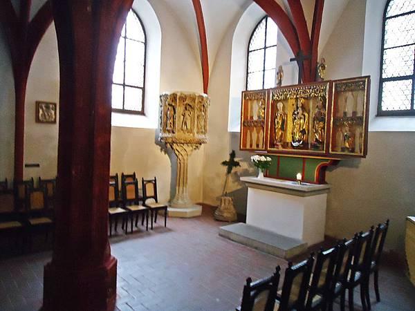 教堂裡的小祈禱室,也是「神劇」(Oratorio)一詞的來源