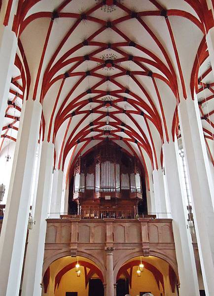 聖湯瑪斯教堂的管風琴