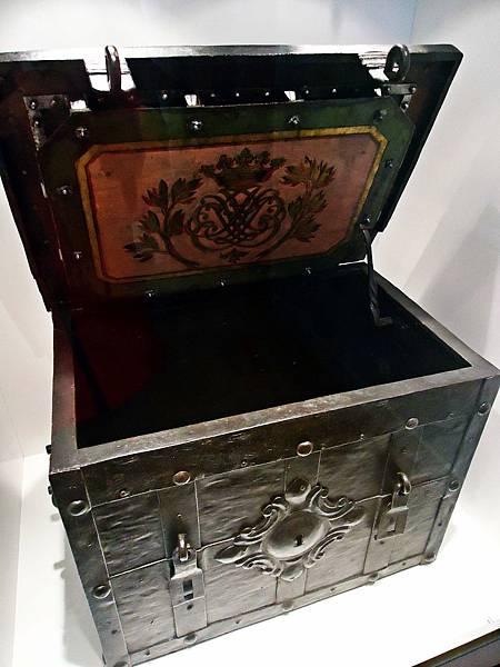 巴赫使用過的一只箱子,用來收藏貴重物品