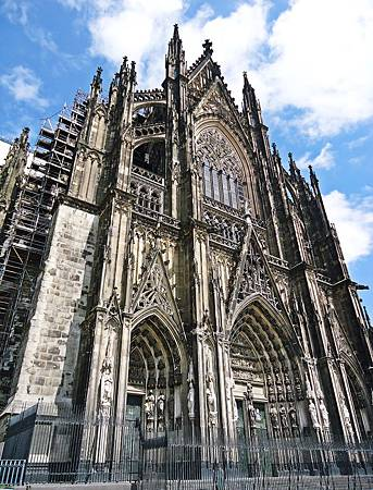 好大的科隆大教堂