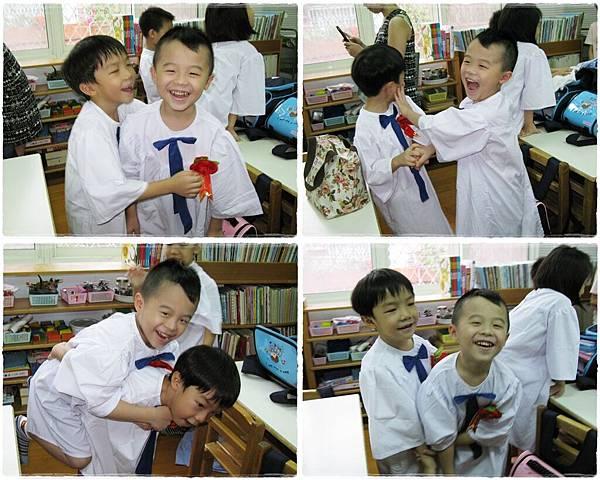 大衛和他最愛的朋友廖竑睿