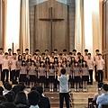 高一義班勇奪合唱比賽第一名