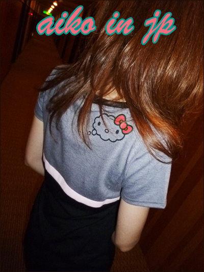 aiko in jp春舞112 DELYLExKITTY折扣款 雲朵kitty蕾絲拼接上衣連裙1.jpg