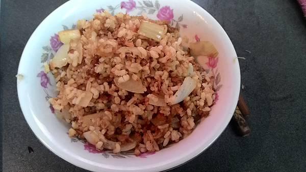 魚鬆炒飯5