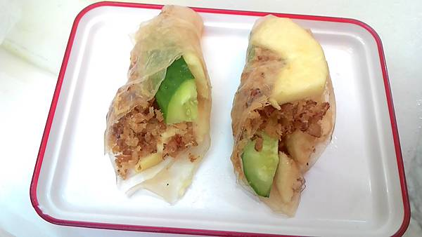 魚鬆料理1