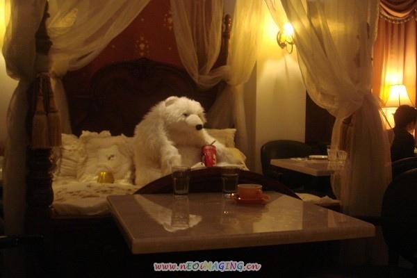 around white bear in bed.jpg