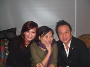 有天在party巧遇黃大煒耶還有香港的Vani
