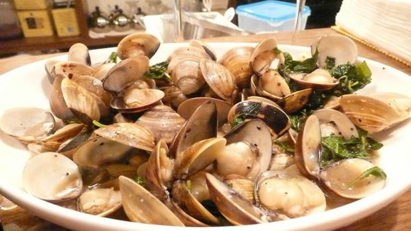 白酒炒蛤蜊 好吃