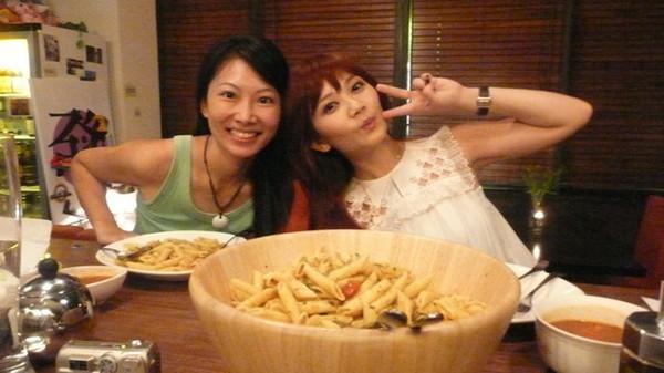 我做了通心粉 pasta 這是馬來西亞的朋友 嘉惠