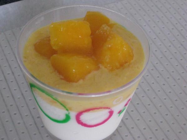 芒果鮮奶酪