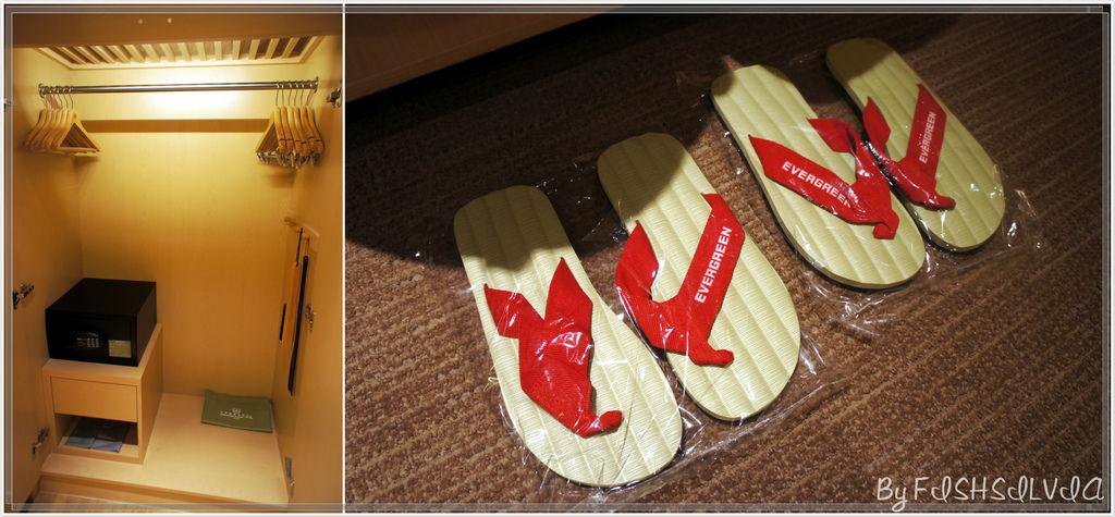 礁溪長榮,拖鞋